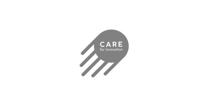 Das ist das Logo von Care for Innovation.