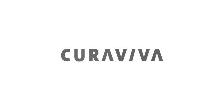 Das ist das Logo der Curviva.