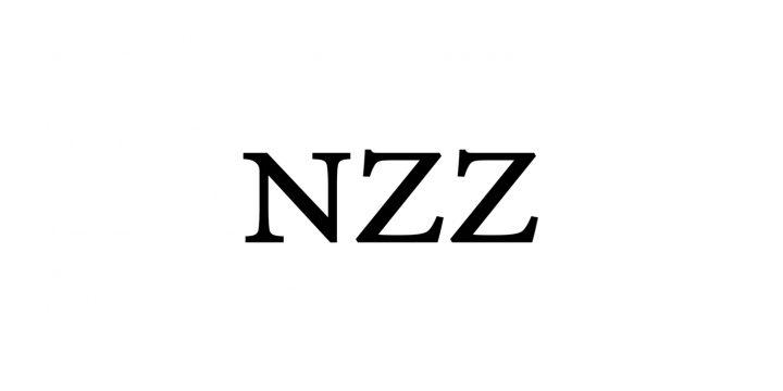 Hier sieht man das Logo der Neuen Zürcher Zeitung.