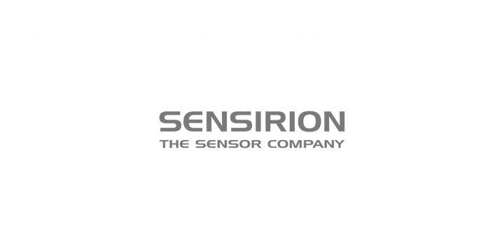 Das ist das Logo von Sensirion.